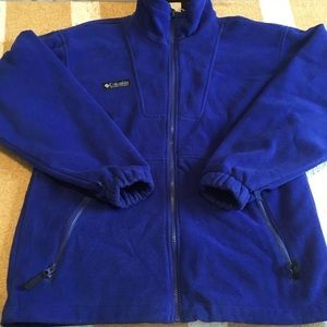 Vintage Columbia zipup fleece
